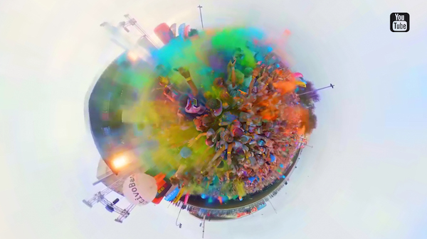 Color Run 360 Youtube Thumbnail